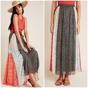 Verb by Pallavi Margot Embellished Maxi Skirt NWT